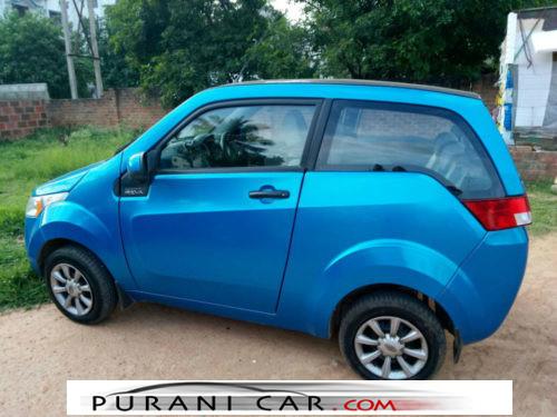 E2O -Electric Car Blue Color