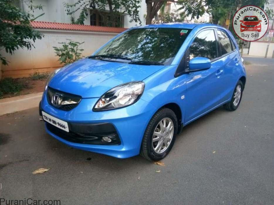 Used 2012 Honda Brio car in Coimbatore for Rs. 450000