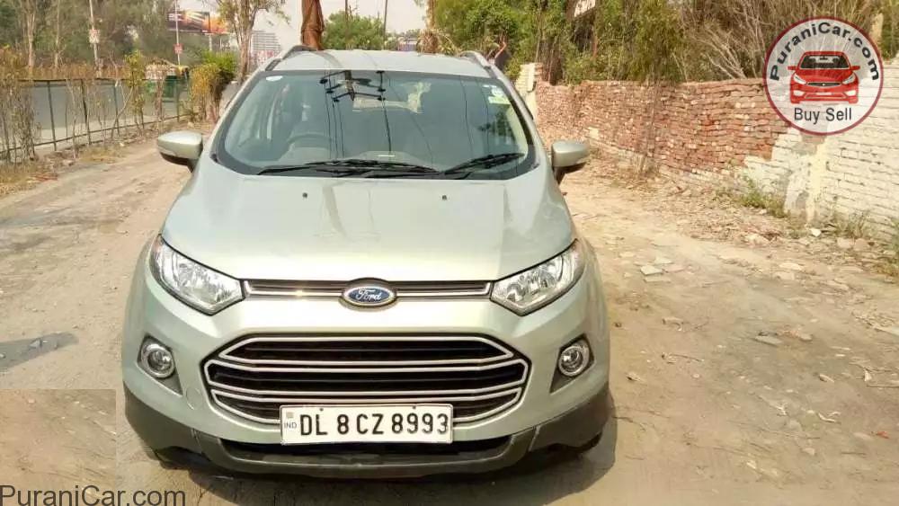 Subaru Dealer Near Me >> Ford Ecosport | Ghaziabad - PuraniCar.com