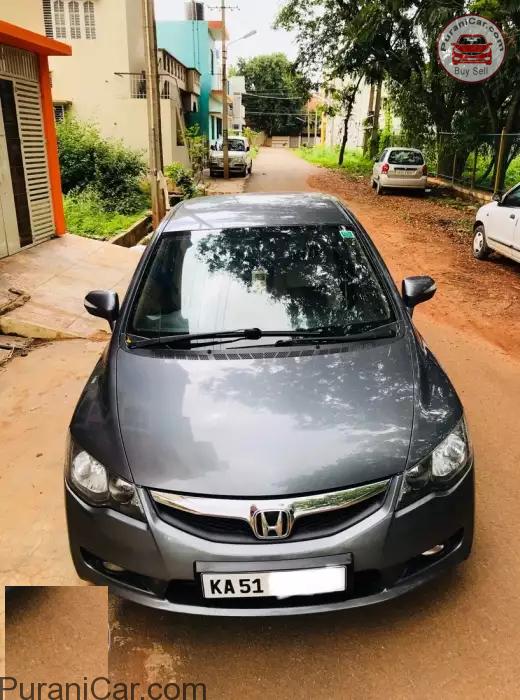 Honda Civic Bangalore Puranicar Com